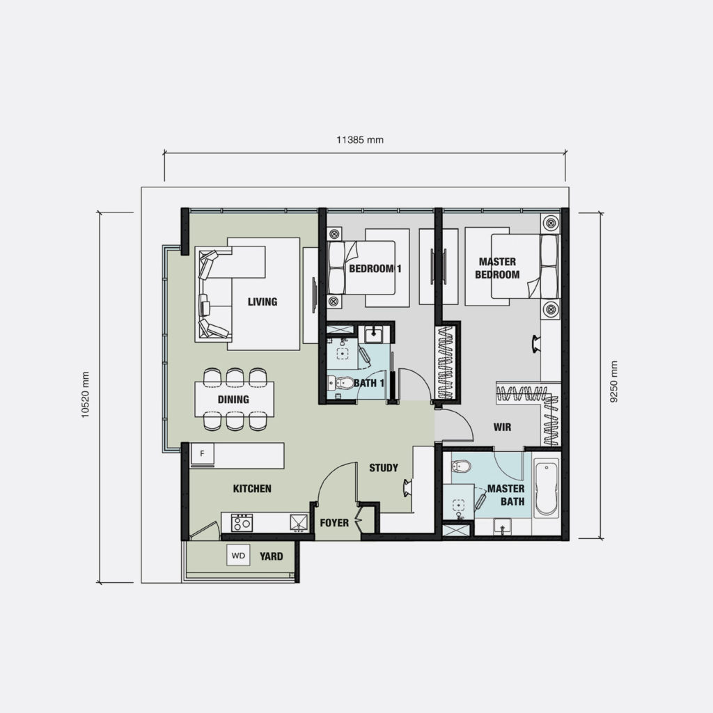 Floor Plan - Aria Luxury Residence